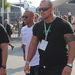 Lewis Hamilton és egy testőre