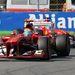 Ferrari-formáció az időmérőn, Massa, mögötte Alonso
