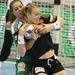 Karoline Dyhre Breivang (j) és Kovacsics Anikó