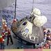Apollo-13 parancsnoki kabin visszatérés után.