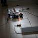 Egy robot 5 pluszpontot érő feladat végrehajtására készül: a garázsba tart.