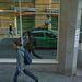 Visszatükröződő Google-autó