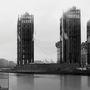 Függőleges ipari terjeszkedés egy londoni látványtervben. Nem annyira látványos, mint egy Pink Floyd-lemezborító, de majdnem.