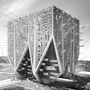 Mark Talbot és Daniel Markiewicz detroiti tervezők függőleges kertvárosa. A kockaépületbe szórakozási és bevásárlási lehetőségeket is terveztek. Ezüstéremmel jutalmazták.