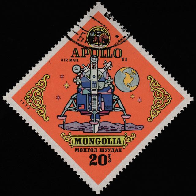 Bélyegeken is ünnepelte a világ az Apollo-11 hőseit - 12