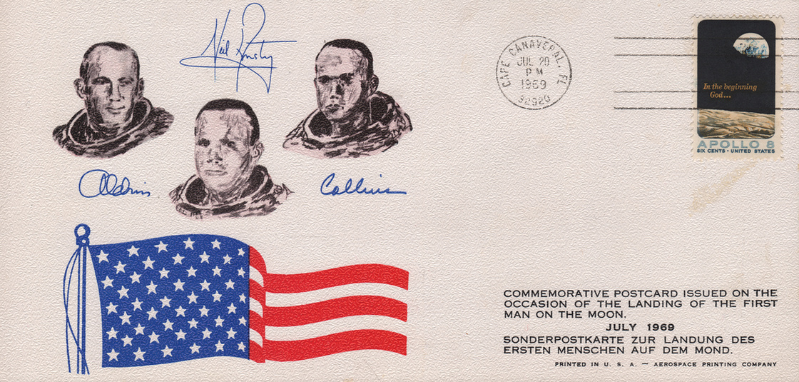 Bélyegeken is ünnepelte a világ az Apollo-11 hőseit - 6