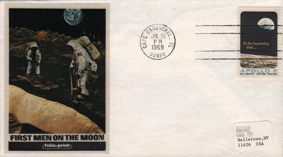 Bélyegeken is ünnepelte a világ az Apollo-11 hőseit - 5