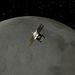 A GRAIL-A a Hold körül (művészi ábrázolás)