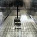 A termovákuum kamrában az űrbéli körülményeket modellezték a földi laborban.