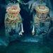 Kettő a Titanic hajtőművei közül. A lerakódott rozsda cseppkőszerű képződményeket alkot.