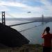 A Golden Gate felett