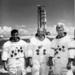 Az Apollo-17  csapata (b-j) Harrison Schmitt, Ronald E. Evans és Gene Cerna voltak az utolsó emberek a Holdon, negyven éve.