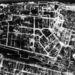 A sztálingrádi pályaudvar környékéről készült, 1943 januári légifotó. Alig maradt ép épület a stratégiailag fontos csomópontok környékén.