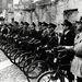 A gettó rendőrségének biciklis egysége, 1941.