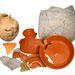 Római kori edények a szemétgödörből