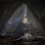 Ez nem H. R. Giger koncepciós vázlata egy nagy költségvetésű sci-fihez, hanem a barlang egyik bejárata. Van belőlük elég: a teljes barlangrendszer 150 kisebb barlangból áll.