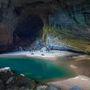 A barlang tele van édes vizű tavakkal és sebes sodrású folyókkal. A vietnami háborúban a barlang népszerű óvóhely volt a helyiek számára, de utána feledésbe merült, amíg ismét fel nem fedezték.