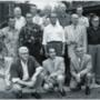 A 71 éves Bábolnay a tervező csapattagjaként (középső sor, jobbról a második)
