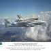 2005. augusztus 19. A kaliforniai Dryden repüléskutató központból a Floridai Kennedy-űrközpontba tart az STS-114-es küldetésből tíz nappal korábban visszatért Discovery. A kontinenst átszelő repülőút két napig tart, közben többször is leszáll a speciálisan átalakított Boeing 747-es, hogy üzemanyagot vételezzen.