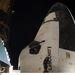 2011. március 2. Az orr és a kabin, benne egy űrhajóssal.