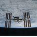 2011. március 7. Leválás után távolodóban az ISS-től.