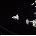 2011. március 7. Egy hét közös munka után intettek búcsút az ISS-en tartózkodó űrhajósok a Discovery legénységének és a nyugdíjba vonuló űrsiklónak.