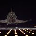 A NASA űrsiklóprogramjában ez volt a 24. éjszakai leszállás.