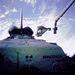 1993. június 25. STS-57:  David Low és Peter J.K. Wisoff gyakorló űrsétája.