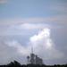Zivataros, viharos időben nem lehet űrsiklót indítani