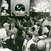 1969. július 24. Az Apollo 11 küldetés sikerét ünneplik az irányítóközpontban.